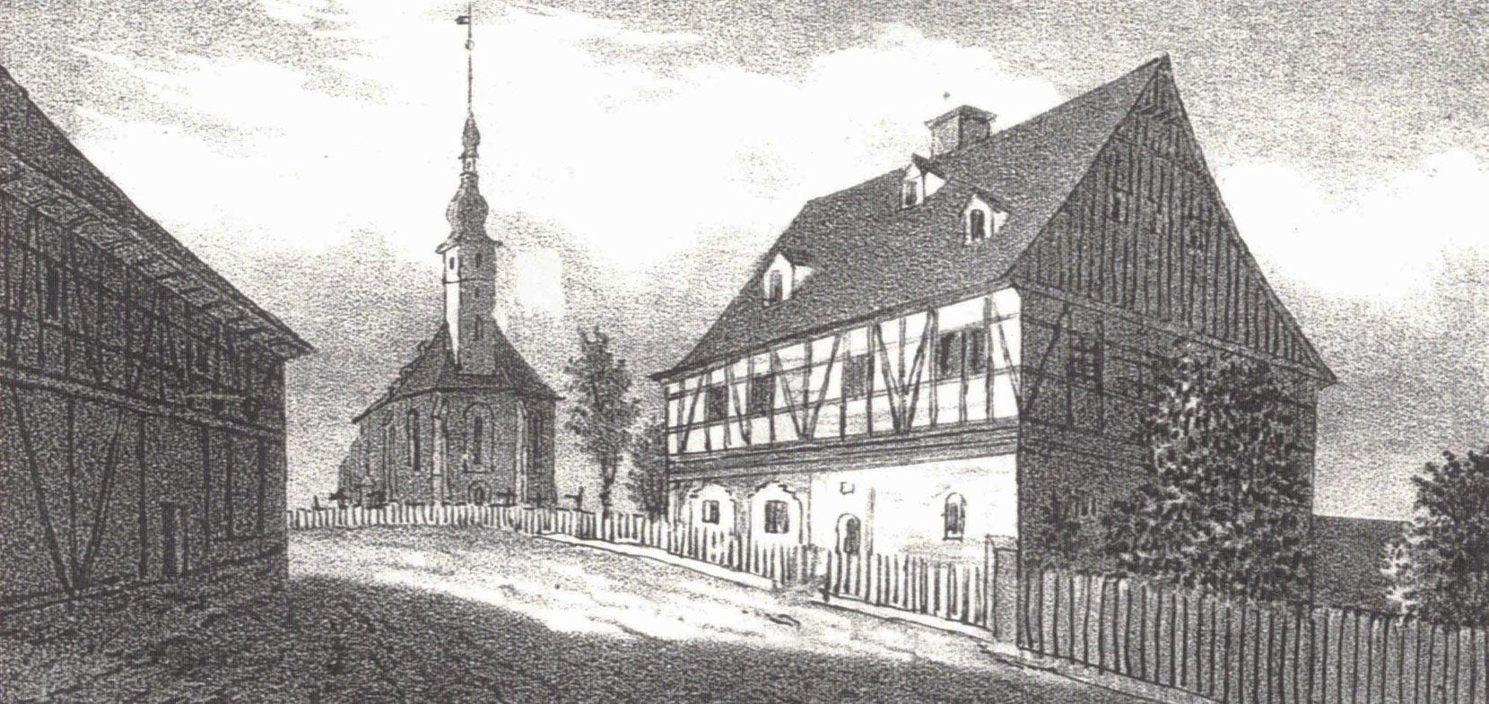 225 Jahre neu errichtete Kirche zu Rothenkirchen